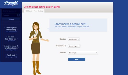 social networking sites okcupid