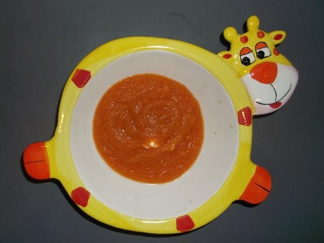 zupka marchewkowa z jabłkiem