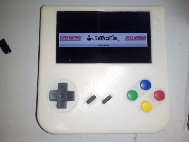 Console portátil com Raspberry Pi
