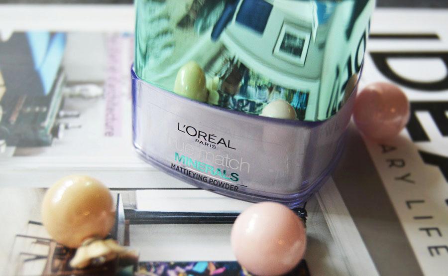 L'oreal - True Match Minerals - Mattifying Powder recenzja, moja opinia , puder transparentny