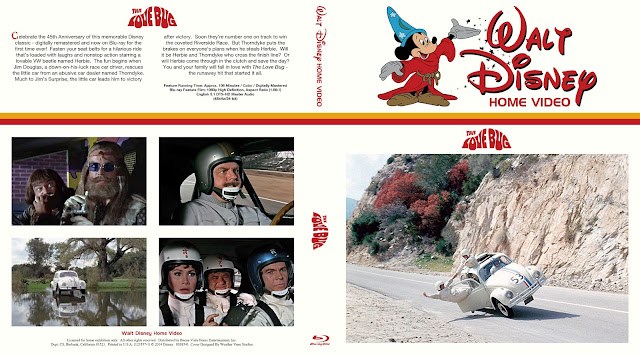 The Love Bug (1968) Bluray Cover