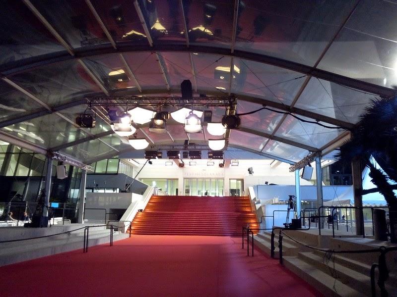 Festival de Cannes, Cannes, Palais, montée des marches