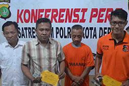 Polisi Tangkap Pelaku Pencurian di Rumah Juragan Ayam Potong Cinere