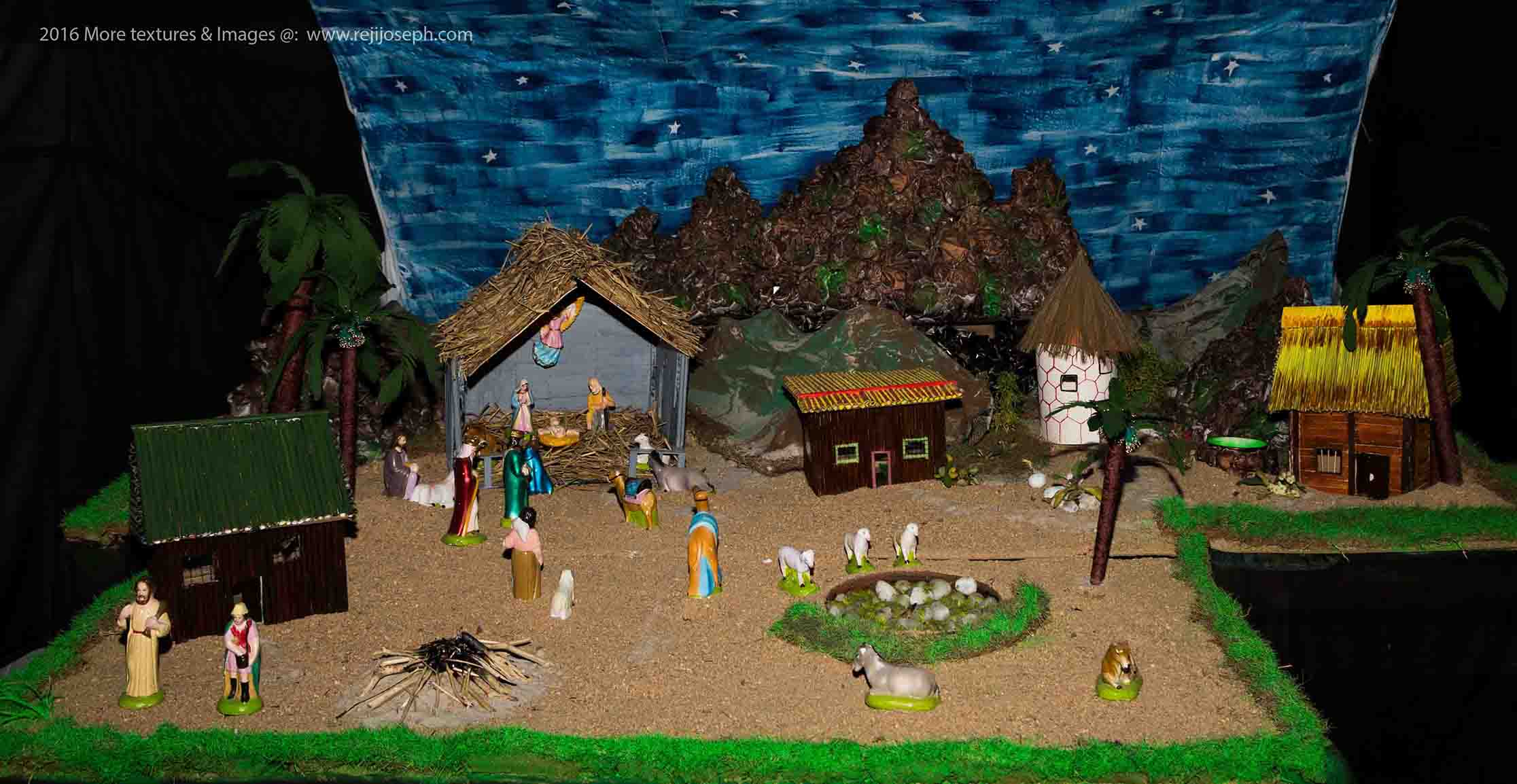 Christmas crib Pulkoodu little flower church elamkulam 00003
