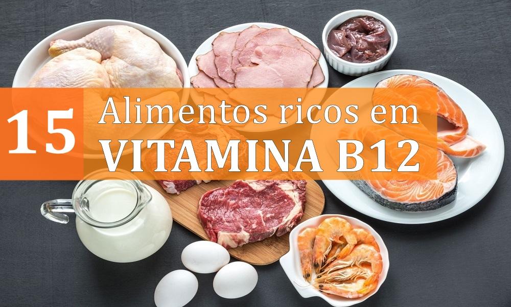 Top 15 alimentos ricos em vitamina B12