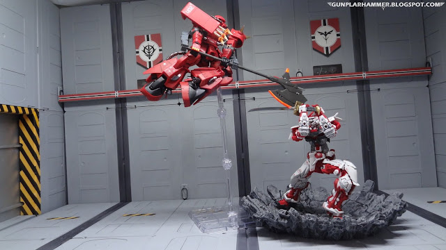 Full Bullet Zaku Prototype VS Astray Red Frame Gundam