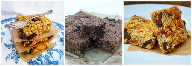 flapjacks and oat bars