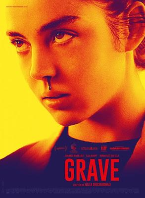 CRUDO (Grave) - poster película