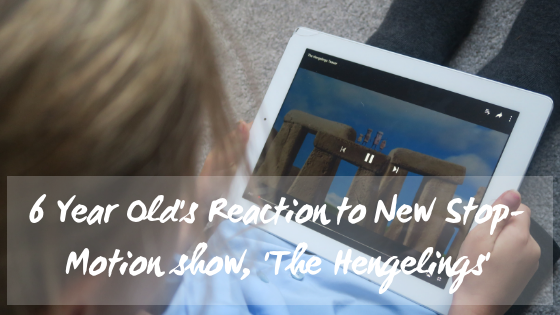 The Hengelings new stop-motion kids show blog title