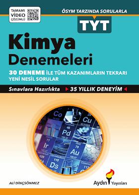 Aydın 30 TYT Kimya Denemeleri PDF