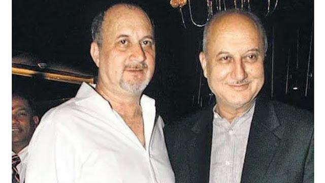 Anupam Kher and Raju Kher