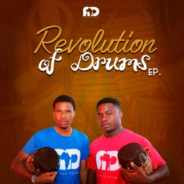 Afrikan Drums - Revolution Of Drums
