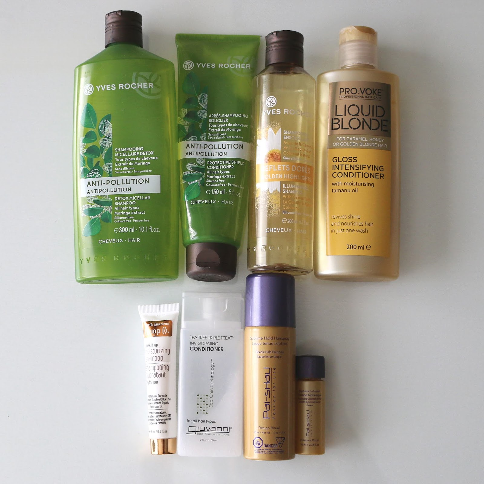 beauty empties hair care