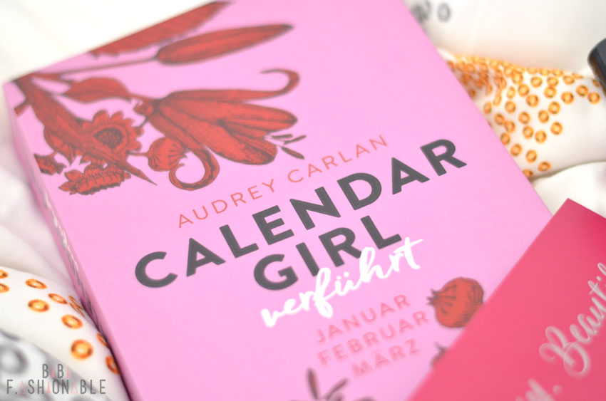 Calendar Girl verführt Cover nah