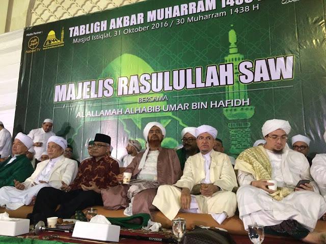 Nasehat Agung dari Guru Mulia Al Habib Umar Bin Hafidz Tentang Demo 4 November