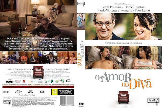 Capa DVD O Amor No Divã