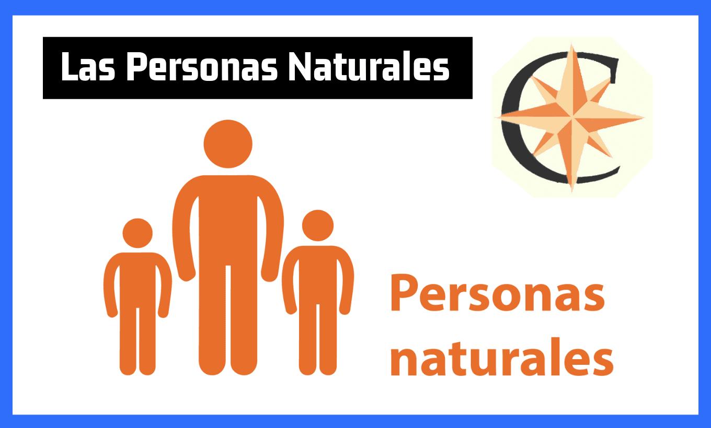 ¿Qué es una persona natural?