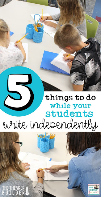 When your students are writing, how can you make the most of your time? Here are five ideas to impact your student writers.
