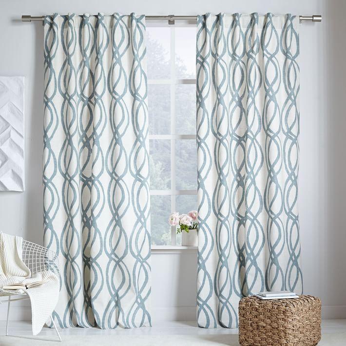 Hidden Curtain Rods Track Curtains Shower Tab