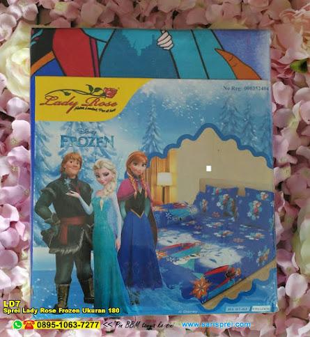Sprei Lady Rose Frozen Ukuran 180