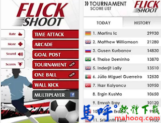 Flick Shoot APK / APP Download,Flick Shoot Android APP 下載,好玩的手機足球遊戲 APP 下載
