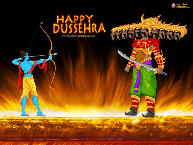 15+ Unique Dussehra Wallpapers Pictures Images For Desktop & Mobile In High Definition