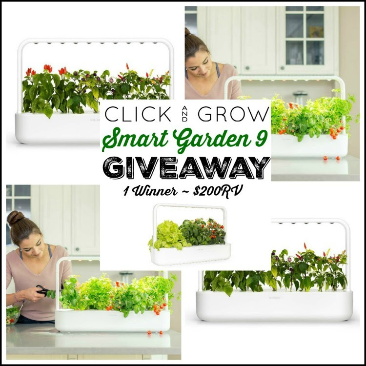 Click and Grow Smart Garden Giveaway