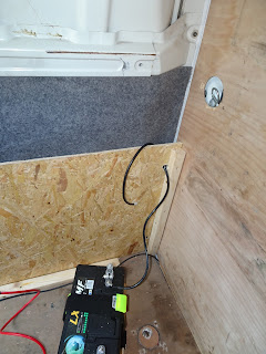 battery hook up in van conversion