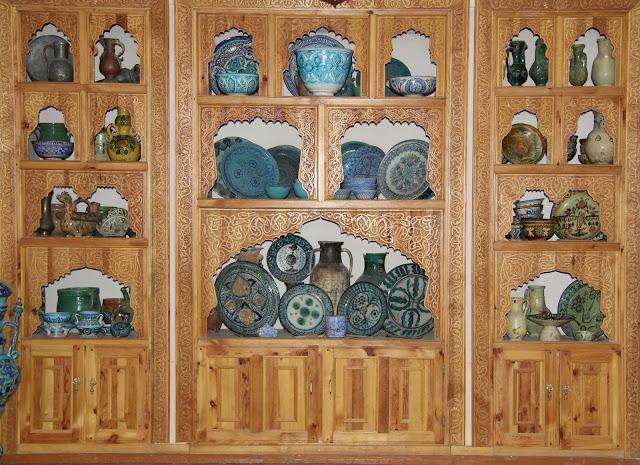Ouzbékistan, Richtan, rue Al-Roshodoni, Musée de la Céramique, Roustam Ousmanov, © L. Gigout, 2012
