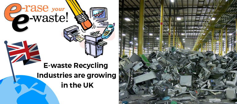 E-waste Recycling Industries are growing in the UK