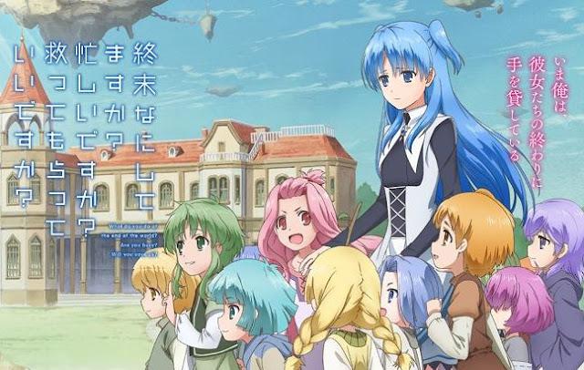 Anime Like Violet Evergarden - Shuumatsu Nani Shitemasu ka? Isogashii desu ka? Sukutte Moratte Ii desu ka? (SukaSuka/World End)