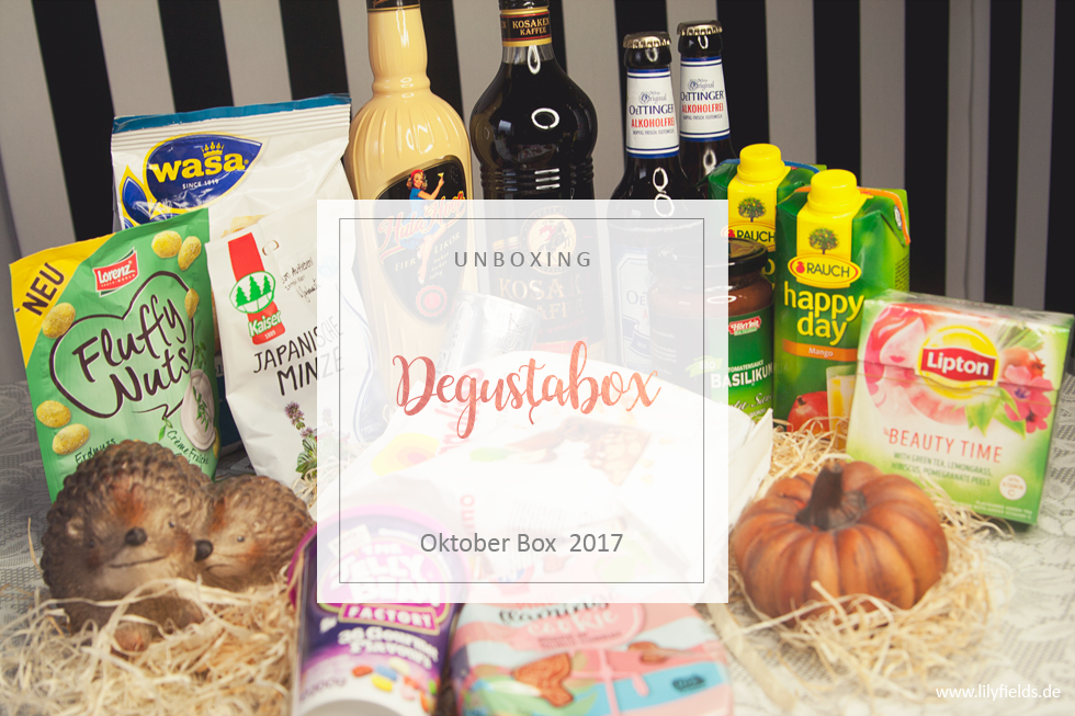 Degustabox - Oktober 2017 - unboxing