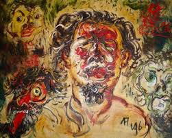 Lukisan Dengan Konsistensi Dalam Ketidakberaturan