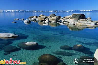 Khám phá những hồ nước đẹp tại Mỹ