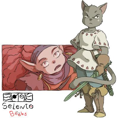 Ilustraciones descartas de la nueva edición de RoRo el príncipe gato y el Corazón de la Montaña (2018) Parte 2 - RataBella