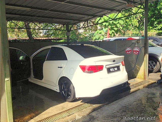 They did a very good job, ensuring my Kia Forte is clean and shiny, inside and out