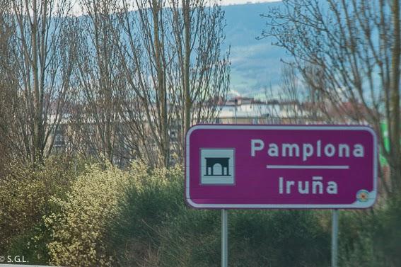 Cartel de Pamplona Iruña. 7 de Julio es San Fermín