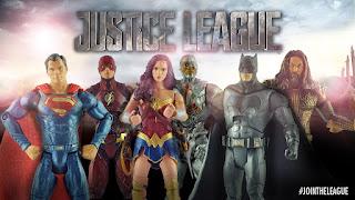liga de la justicia: unete a la liga con las nuevas figuras de accion