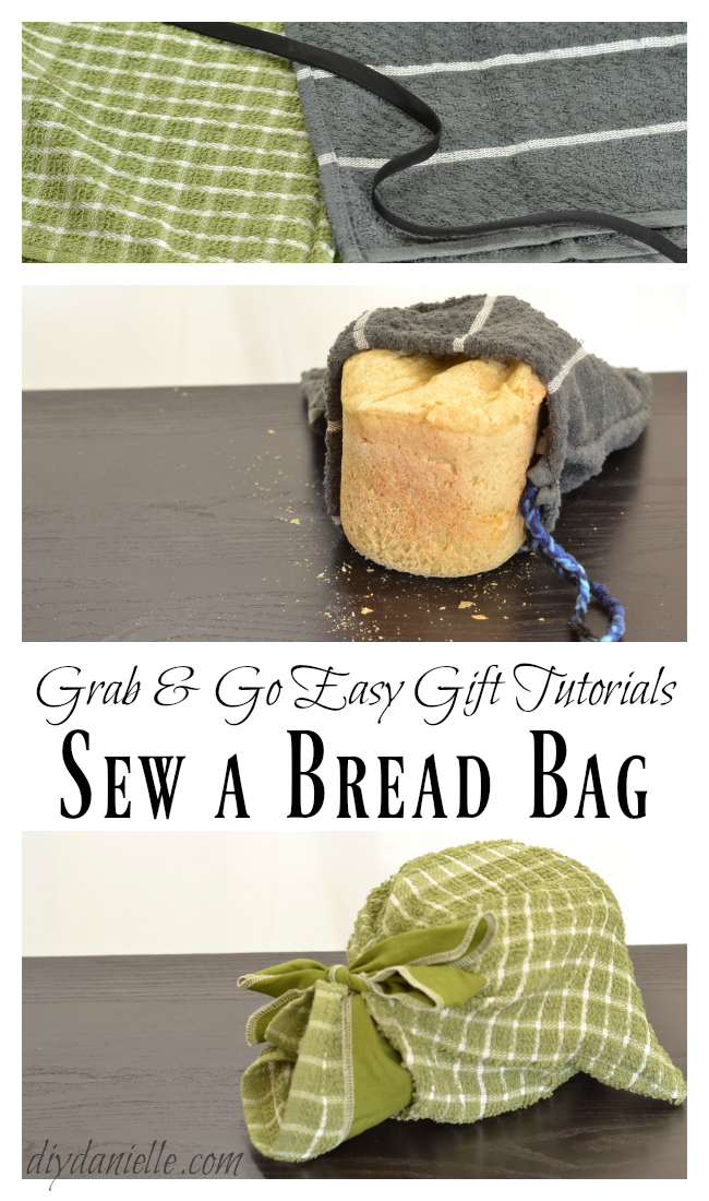 Learn to Make this Easy Bread Bag!