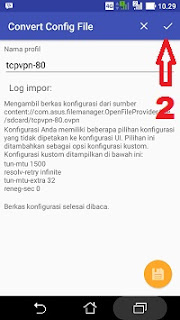 Cara menjalankan openvpn for android langkah 2