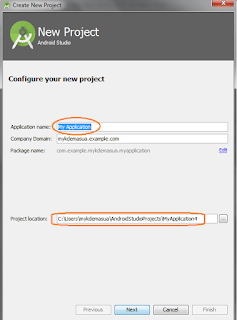 Building your first  mobile app with the Android Studio IDE