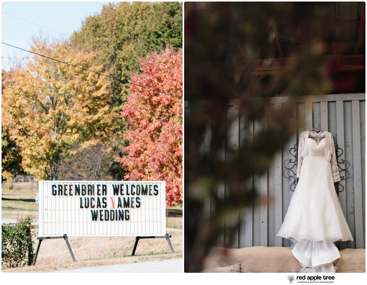 red apple tree photography: Greenbrier Farms Wedding with