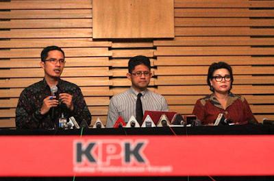 Siaran Pers KPK: Capaian dan Kinerja di Tahun 2017