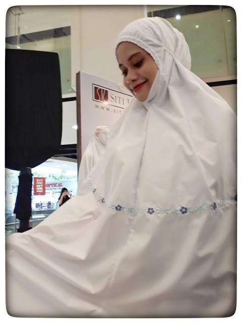 Mukena Siti Khadijah Desain Klasik