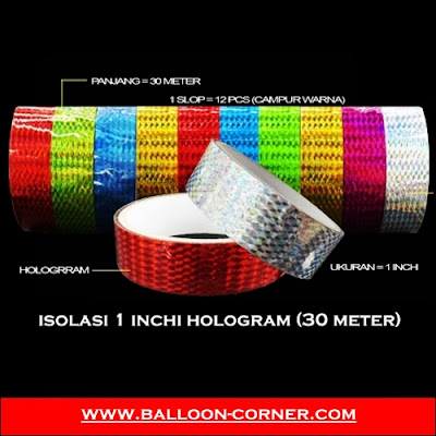Isolasi 1 Inchi HOLOGRAM