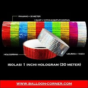 Isolasi 1 Inchi HOLOGRAM