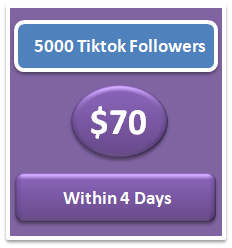 5000 buy tiktok followers cheap