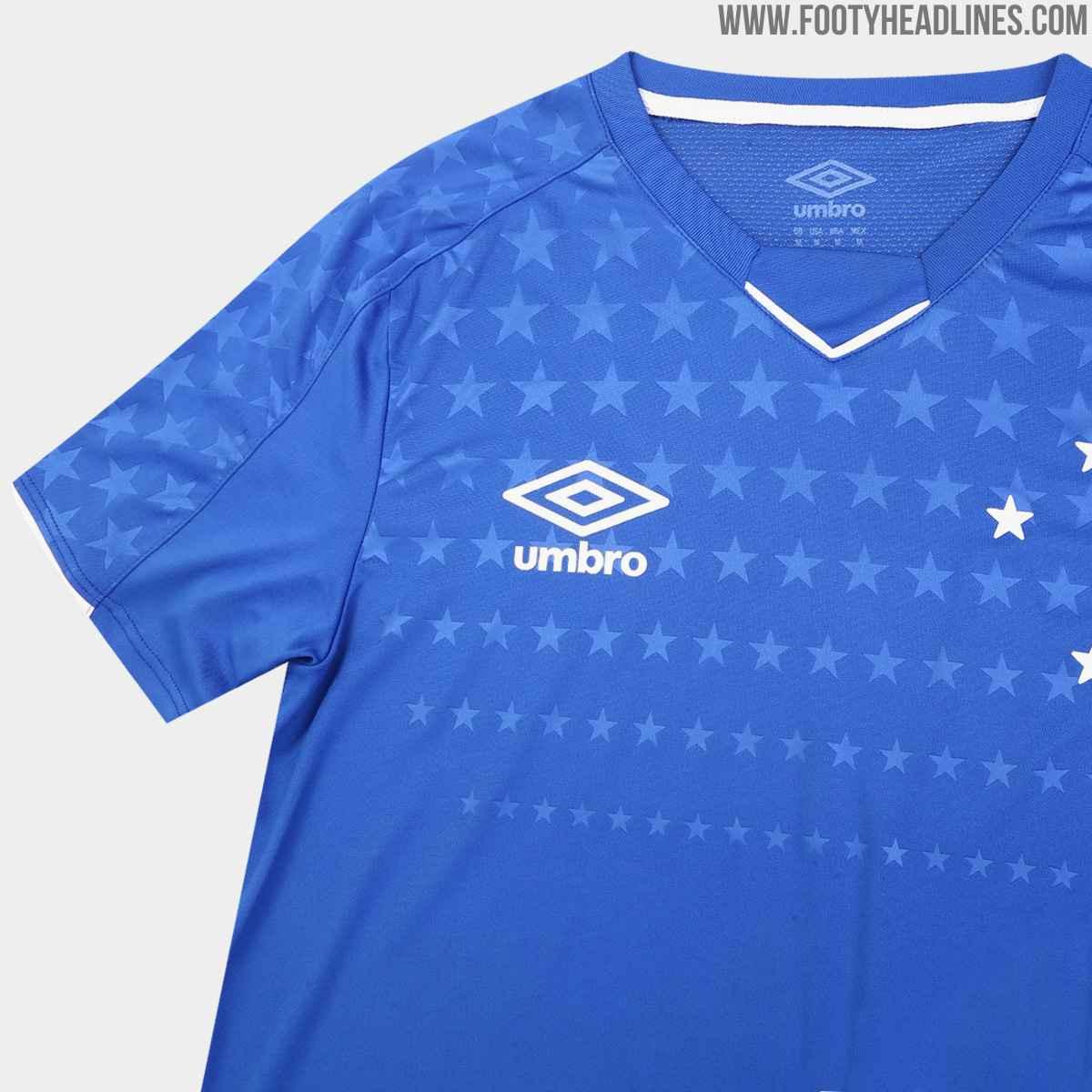 Umbro Cruzeiro 2019 Home U0026 Away Kits Released Footy