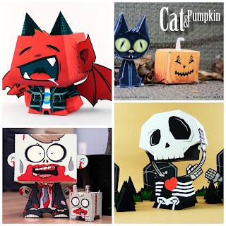 http://www.musingsofanaveragemom.com/2017/09/halloween-paper-crafts.html