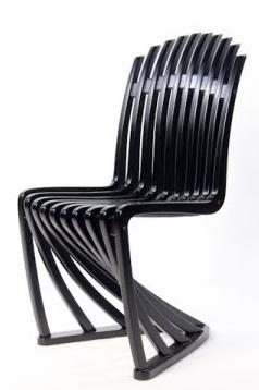 Pink Panton Chair Navy Blue Outdoor Rocking Pinkcross Design: Reinterpretando A Los Clásicos
